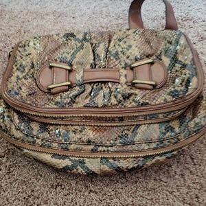 Jessica Simpson snake print hand bag